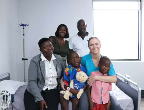 Cochlear implant at Club Surgical Centre brings hope and hearing to nine-year-old