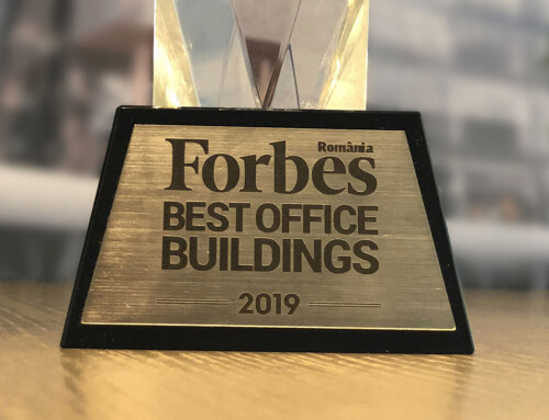 Openville Timisoara project awarded in best office buildings 2019 Forbes Gala