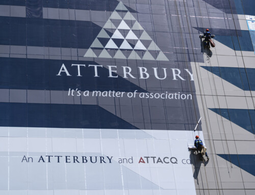 Innovative out of home brand campaign inspired by Atterbury